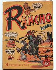 RANCHO n°1 - Editions SER CHOTT 1954 - TBE