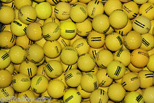 100 Assorted Yellow Practice/ Range AAA / AA Used Golf Balls - Mixed Models