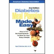 Diabetes Meal Planning Made Easy : How to Put the Food Pyramid to Work-ExLibrary