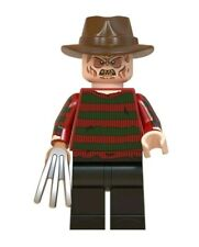 FREDDY KRUEGER NIGHTMARE ON ELM STREET LEGO COMPATIBLE MINI ACTION FIGURE