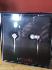 urBeats by Dr. Dre. In-Ear Headphones, Rose Gold, Original Box