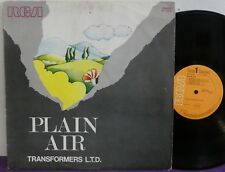 TRANSFORMERS LTD Plain Air LP ALESSANDRONI Italian Weird LIBRARY RCA