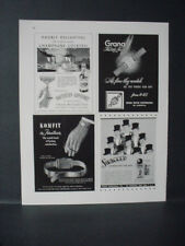 1946 Grana Kurth Freres Watch Southern Comfort Liqueur Vintage Print Ad 11043