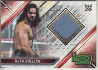 2019 WWE Raw Seth Rollins mat relic