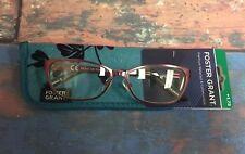 NEW Reading Glasses Foster Grant Pink Frames +1.75 Prescription