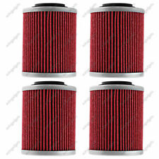 4Pcs Oil Filter For Bombardier Can-Am Outlander 330 400 450 500 570 650 800 850 (Fits: Bombardier)