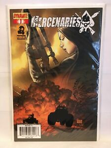 Mercenaries #1 NM- 1st Print Dynamite Comics