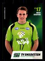 Nick Steffen Autogrammkarte TV Emsdetten Original  Handball + A165390