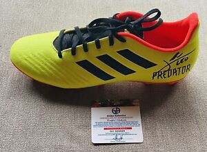 Lionel Messi Signed/Autographed FC Barcelona Soccer Adidas Cleat Shoe with COA