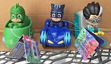 "PJ Masks Mini Vehicles 4"" Romeo Gekko & Catboy Racers Gekko Cars Gekko Figure"