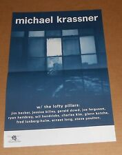 Michael Krassner with the Lofty Pillars Poster Promo 11x17 Boxhead Ensemble