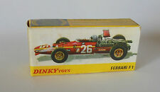 Repro box DINKY Nº 1422 Ferrari F 1