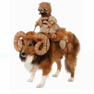STAR WARS Pet Costume - Bantha Tusken Raider w/Headpiece by Rubies