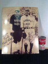 "Vintage Print Of Babe Ruth & Lou Gehrig Barnstorming Taken 1927 14""X11"""