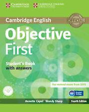 (14).(WB+KEY).OBJECTIVE FIRST CERTIFICATE.(+CD) 4A.ED. ENVÍO URGENTE (ESPAÑA)