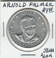 (X) Token - Arnold Palmer - Golfer - 38 MM Aluminum
