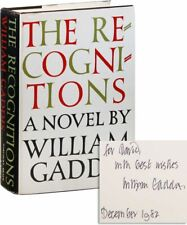 William Gaddis-THE RECOGNITIONS (1955)-1ST ED, NF/NF DJ, INSCRIBED-FIRST NOVEL