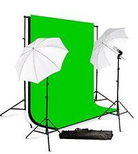 Fancierstudio lighting kit with 3 backdrops background stand kit