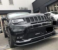 "Front lip splitter for Jeep Grand Cherokee SRT Trackhawk 2017, 2018  ""Renegade"""