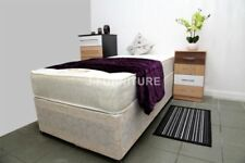 Highgrove Fabric Memory Foam Beds with Mattresses