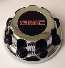 G008 Genuine GMC Sierra Savanna Yukon 2500 3500 8-lug Wheel Center Hub Caps NEW