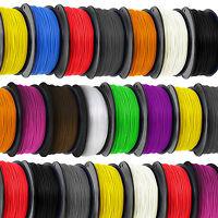 3D Printer Filament 1.75mm 3mm ABS / PLA / HIPS 1 kg RepRap Makerbot