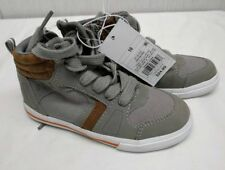 Cat & Jack Toddler Boys' Wilfred High Top Sneakers sz 10 Grey [0728]
