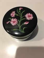 Tiffany & Co. Mrs Delany's Flowers Porcelain Round Trinket Box By Sybil Connolly