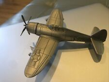 Danbury Mint Pewter Great Fighter Planes of Wwii P47 P-47 Thunderbolt - Nice