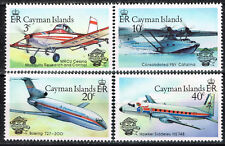 British Cayman Islands Aviation Aircrafts set 1978 MNH