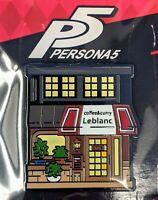 Persona 5 Royal Strikers Cafe Leblanc Enamel Pin Figure GLOW IN THE DARK P5