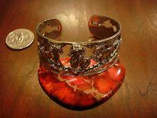 Fine Jewelry Sterling Silver Cuff Bracelet  (Running Horses)