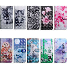 For Nokia New Hot Creative Painted Flip Antislip Wallet Fashion Phone Case Cover