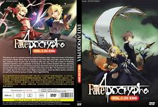ANIME DVD~Fate/Apocrypha(1-25End)English subtitle&All region FREE SHIPPING+GIFT