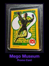 2006 MEGO MUSEUM 70's WGSH RIDDLER DC Comics Batman Trading Card ACTION FIGURE