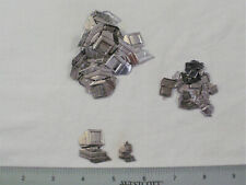 30 Computer Stampings-Silver Plated Brass For Jewelry & Crafting, 3 Styles Made
