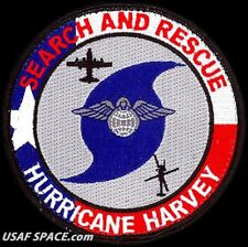 USAF 23RD WING - HURRICANE HARVEY 2017 - HC-130 - Moody AFB, GA - ORIGINAL PATCH