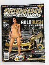 Auto & Sound Performance 4/2011 Maya Michelle Rew, Honda Prelude,+ GRATIS TUNER