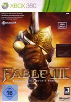 Microsoft Xbox 360 - Fable III #Limited Collector´s Edition nur Spiel mit OVP