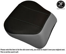GREY & BLACK VINYL CUSTOM FITS HARLEY BRAKEOUT 13-16 SUNDOWNER REAR SEAT COVER