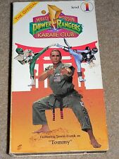 Mighty Morphin Power Rangers Karate Club, The - Level 1 (VHS, 1994) JASON FRANK