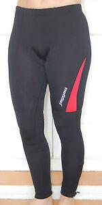 Jaggad Fleece Long Cycling leggins Tights Knick Pants bike Men Women S -XXL Red