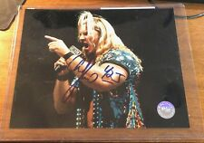 Chris Jericho Y2J Wrestling WWE Auto Signed Photo Autograph R/R COA