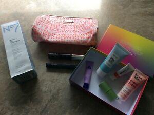 9 cosmetics bundle Birch box items, No 7, Clinique