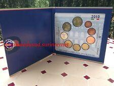 Coffret BU 1 Cent à 2 Euro + 2 Euro CC Italie 2010 - Brillant Universel Officiel