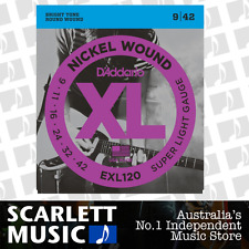 D'Addario EXL120 Super Light Electric Strings 9-42 Daddario EX-120 *BRAND NEW*