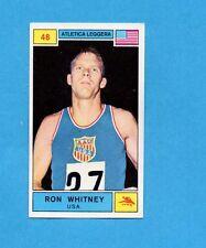CAMPIONI SPORT 1969-70-PANINI-Figurina n.48- WHITNEY -USA-ATLETICA L.-Rec