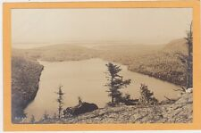Real Photo Postcard South fr Bubble Mt Desert ME Chas Townsend Photo Belfast ME