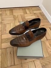 Tom Ford Brown Adney Braided Band Loafers Size 12TT Retail $2K