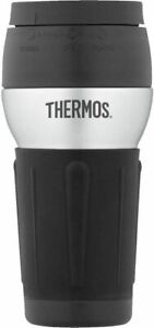 Thermos Vacuum Insulated 18Oz Hydration Bottle and 14 Ounce Travel Tumbler